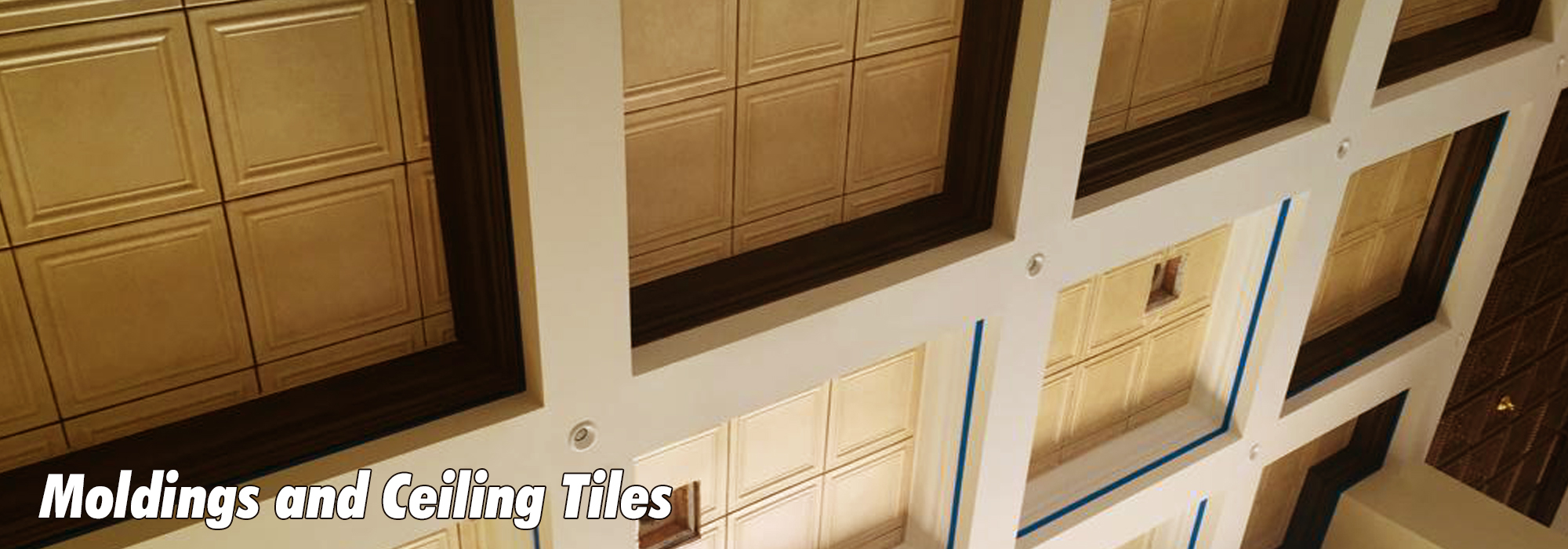 Moldings and Ceiling Tiles